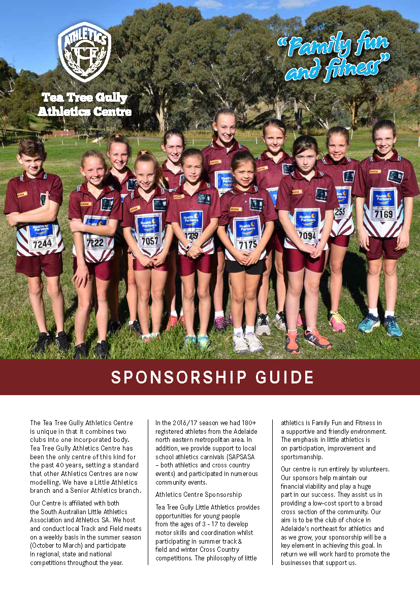 TTGAC Sponsorship Guide 2017 Cover Page